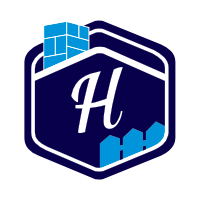 hand crafted home mortgage logo